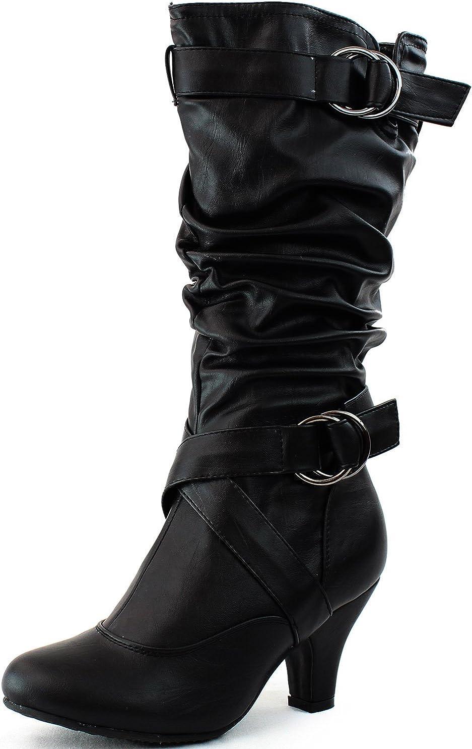 TOP Moda Women's Auto-2 Round Toe Dress Boot
