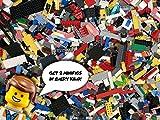 ** 2 kg LEGO ca.1400 Teile Steine, Platten, Räder Sonderteile LEGO Kiloware **