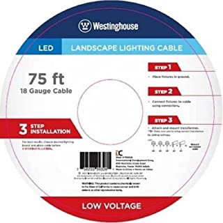 Landscape Lighting Cable – 75 Feets