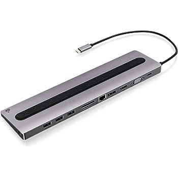 IOGEAR Dock Pro 100 USB-C 4K Ultra-Slim Station (GUD3C02B)
