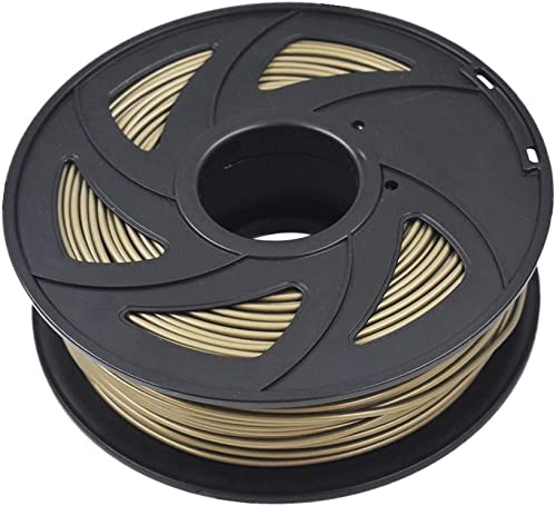 ABS 3D Printer Filament - 2.20 lb (1KG) The Diameter of 3.00 mm, Dimensional Accuracy ABS Multiple Color (Bronze)