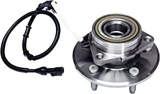 TUCAREST 515031 Front Wheel Bearing and Hub Assembly Compatible With 2000 2001 2002 Ford Expedition Lincoln Navigator (4WD Models Only) [14mm Bolts;5 Lug W/ABS]