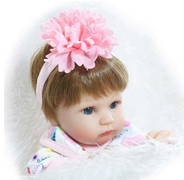 気候の山憎しみ感嘆現実的な生まれ変わった赤ちゃん22インチ55センチシリコーン新生児生まれ変わった赤ちゃん人形のおもちゃ女の子幼児磁気おもちゃギフト、人形ドール
