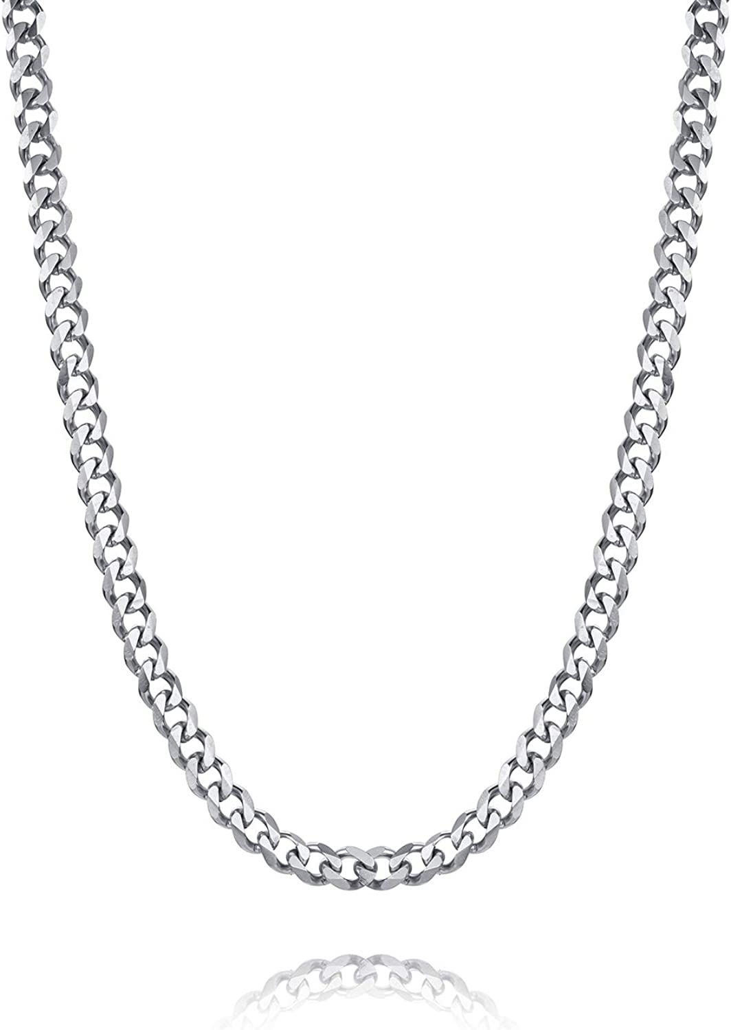 LIUANAN Chunky Cuban Chain Outlet SALE Necklace for 4 Men Save money 6 Width Women 9mm