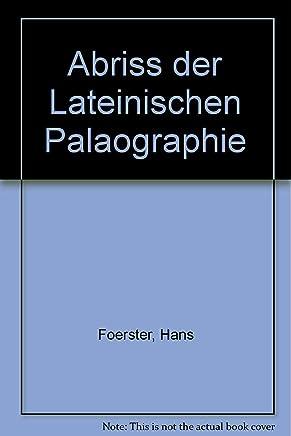 Abriss der Lateinischen Palaographie
