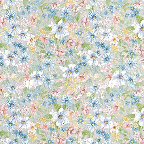 d-c-fix, Folie, Design Romantic - Blumenwiese, Rolle 45 x 200 cm, selbstklebend