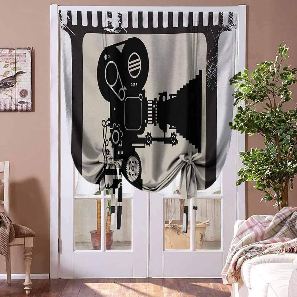 Fresno Mall Bedroom Curtains Movie Theater Blackout Tie Shade New life Up Frame