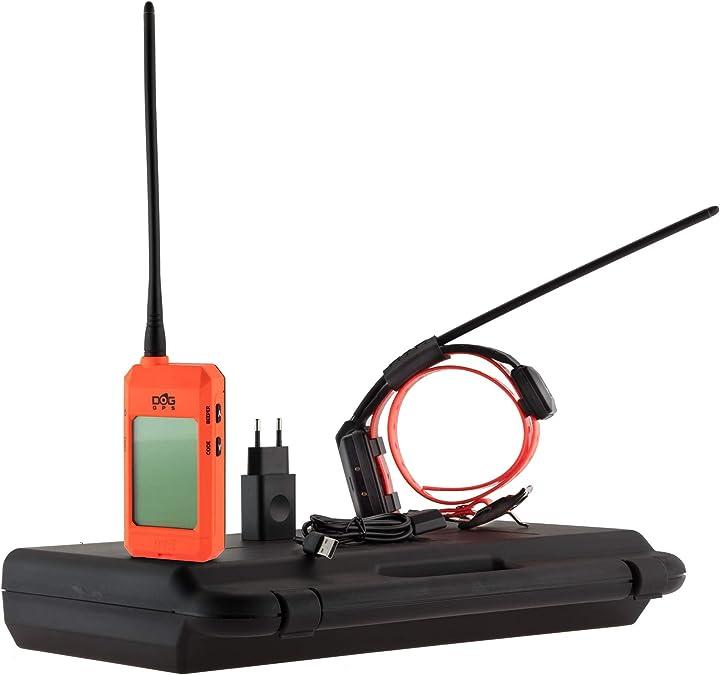 Gps per cani sistema di ricerca gps per cani dog trace gps x20+ kit 1 palmare + 1 collare gps in valigia CH963001