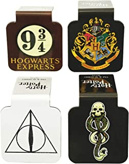 """""""Ata-Boy Harry Potter Assortment #1 Set of 4 1"""""""" Magnetic Page-Top Bookmarks"""",""""1"""""""" x 1.5"""""""""""" (12210HP)"""