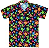 Virgin Crafts Camicie di Natale per gli uomini Beach Party Casuale Camicia Hawaiana Unisex