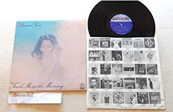 Diana Ross Touch Me In The Morning - cc33c3c - Motown Records 1973 - A Used Vinyl LP Record - 1981 Reissue Pressing M5-163V1 - Little Girl Blue - Imagine - Save The Children - Leave A Little Room