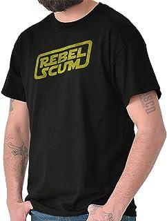 Rebel Scum Funny Space Galaxy Luke Sarcasm T Shirt