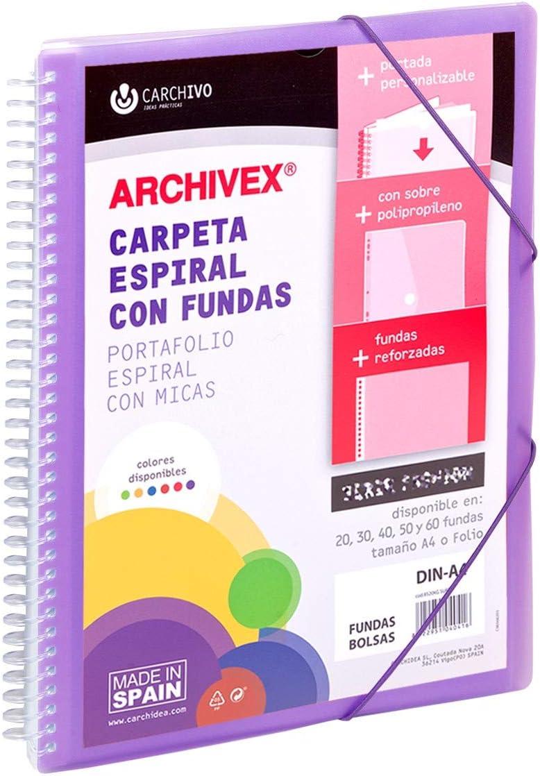 Carchivo Archivex Star Customisable 20 Pockets - Same day Popular standard shipping Binder P Spiral