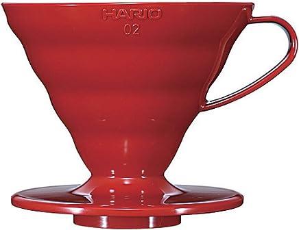Coador de Café HARIO Vermelho Até 4 Xícaras