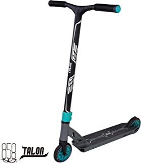 Ride858 Scooter for Kids Or Adults with Patent Reinforced Aluminium Bar Plus 120MM Hollow Core Wheels and Fully Integrated Head Set for The Ultimate Performance (Matte Teal/Gun Grey)