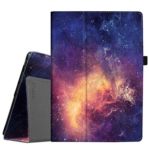 Fintie Case voor Lenovo Tab E10 / Lenovo Tab4 10 / 10Plus - Folio-beschermhoes van synthetisch leer met standaardfunctie voor Lenovo Tab E10 TB-X104F 10.1 inch tablet 2019, Galaxy