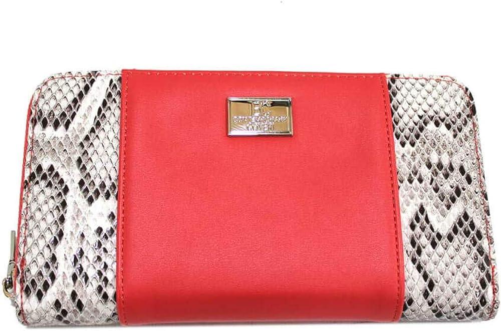 Contemporary coveri, portafoglio da donna, porta carte di credito, in similpelle