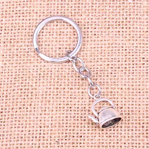 TAOZIAA theepot waterkoker Charm Hanger Sleutelhanger Sleutelhanger Ring Ketting Accessoires Sieraden