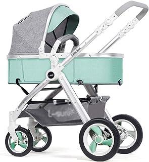 Okänd DZWSD barnvagn kombikinibil barnsportbil med gummihjul, aluminiumlegering, tvåvägssystem, stor övertäckning och stor...