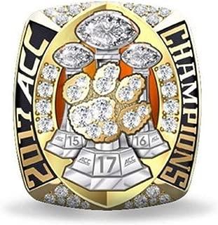 DAtt 2017 Bryant Clemson Tigers Acc National Championship Replica Ring