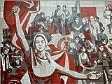 Poster 40 x 30 cm: DDR - Sozialistische Kunst 1970 von