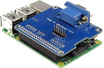 VGA Shield V2.0 Expansion Board For 3B / 2B / B+ / A+ - Arduino Compatible SCM & DIY Kits Raspberry Pi & Orange Pi -1 x VGA Shield V2.0 Expansion Board For Raspberry Pi