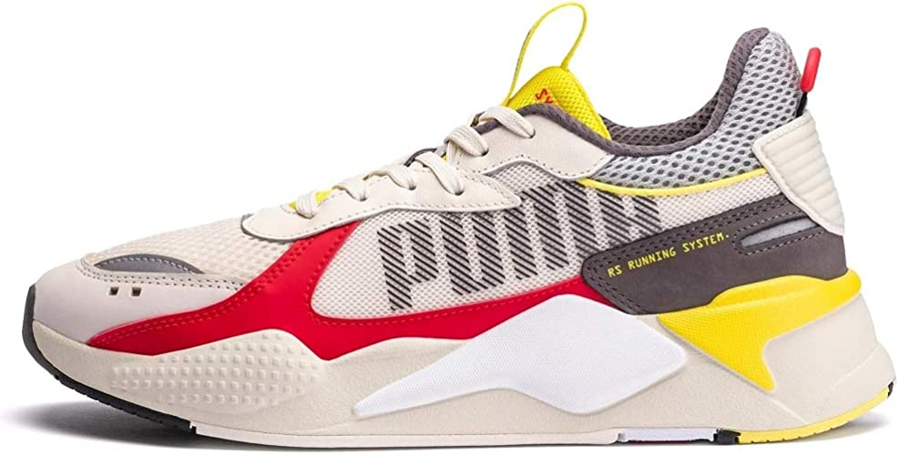 PUMA RS-X Bold Toile Homme Blanc Rouge