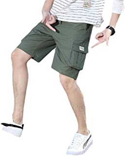 Energy Men's Oversized Workwear Baggy Camo Beach Summer Cargo Shorts Pants