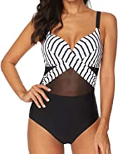 HIGHDAYS One Piece Swimsuits for Women Tummy Control Bathing Suit Girls Summer Swimwear Dress Best for Beach, Pool, Vacation