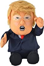 Pull My Finger Farting Donald Trump Plush Figure Doll -With Animated Hair-10.5 Inches Tall