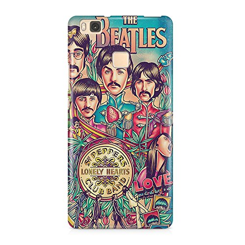 The Beatles Lonely Hearts 3D - Carcasa para Huawei P8 Lite (3 mm)