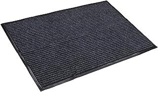 fani Grey Doormat Outdoor, Entrance Rug Floor Mats, Non Slip Easy Clean Outdoor Indoor Shoe Scraper Rug, Door Mats for Ent...