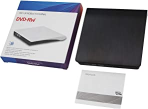 USB 3.0 Super Multi Ultra Slim Portable DVD Rewriter External Drive Support for PC and Laptop