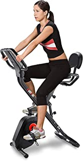 Rsbcshi Exercice vélo Vertical vélo intérieur Pliable Bicyclette de Fitness équipement de Fitness