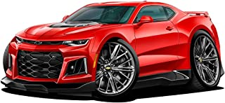 2017-2018 Camaro ZL-1 Chevy Wall Decal 12