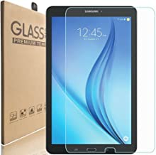 KIQ Galaxy Tab E 9.6 T560 Tempered Glass Screen Protector, 9H Tough 0.30mm Scratch-Resist Self-Adhere Easy-to-Install with Cleaning Cloth for Samsung Galaxy Tab E 9.6 SM-T560