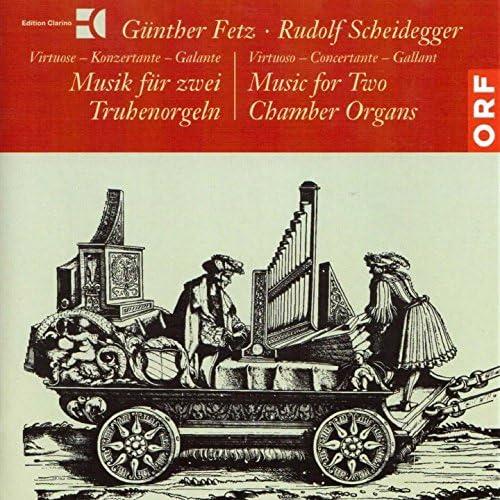 Günther Fetz, Rudolf Scheidegger