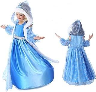 FE6 Frozen Inspired Elsa Dress Halloween Costume Girl Size 3T-10 USA