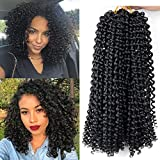 10 Inch Bohemian Hair Curly 6Pcs/Pack Kanekalon Synthetic Short Afro Kinky Curly Crochet Hair Braiding 12Strands/Pc
