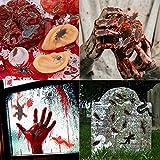 Neusky 160 Stücke Pflastik-Tierchen, Spinnen, Maden und Fliegen für Halloween, Karneval, Fastnacht, Fasching oder Thema Festival, Party und Dekoration (Halloween, 160Stück) - 4
