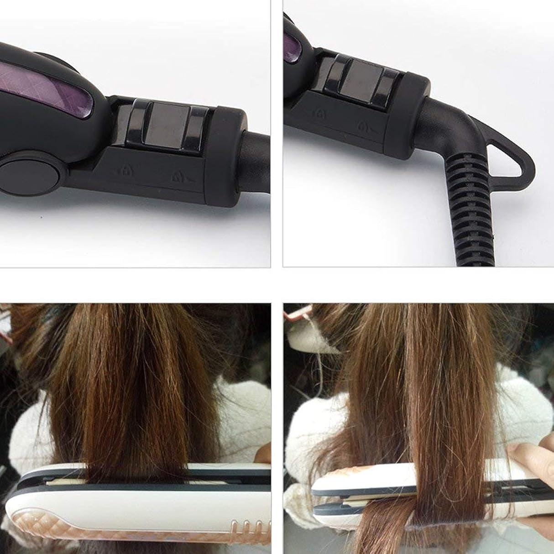 リベラル信頼性備品ストレートヘアアイロンストレートヘアアイロン/ストレートヘアカーラー/温度制御ロック機能/高速加熱/LCDディスプレイ燃焼/帯電防止(耐熱シリコンカバー)