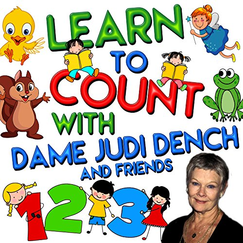 『Learn to Count with Dame Judi Dench and Friends』のカバーアート