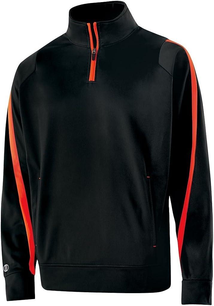 Holloway Adult Determination Pullover (XXX-Large, Black/Orange)
