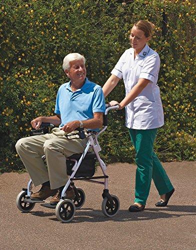 NRS Healthcare M58203 - Silla-andador 2 en 1