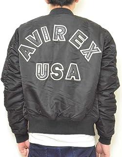 (アヴィレックス)AVIREX メンズ ジャケット「MA-1 COMMERCIAL LOGO コマーシャルロゴMA-1」 6162164