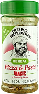 Chef Paul Prudhomme's Herbal Pizza and Pasta Magic Seasoning Blend 3.0 OZ. (Pack of 2)