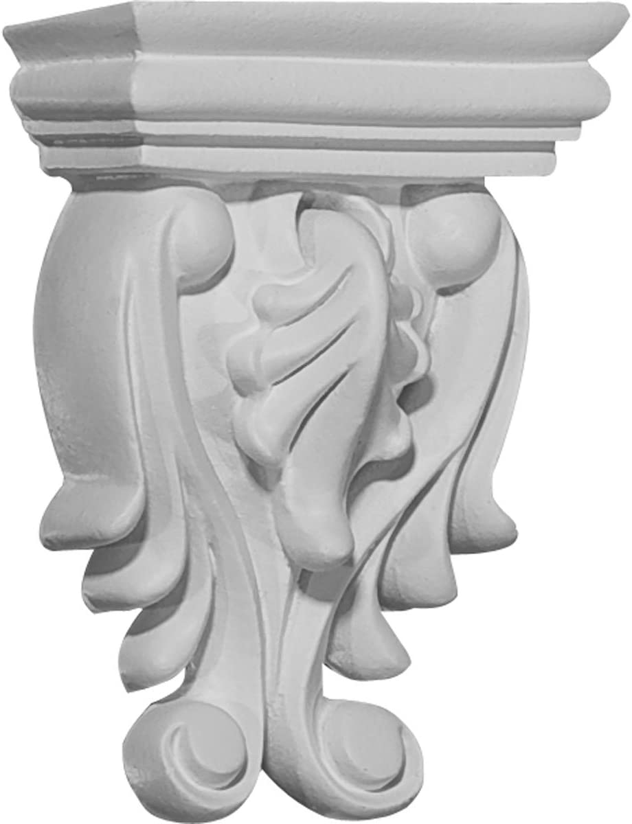 Ekena Millwork COR02X01X03OD-CASE-6 Corbel and Primed Challenge the lowest price of Japan R Austin Mall Factory