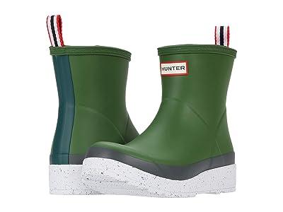 Hunter Play Short Speckle Sole Wellington Boots (Scottish Moss/Spurrey) Women