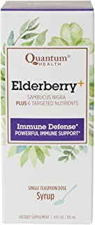 Quantum Elderberry-C Syrup, 4 oz