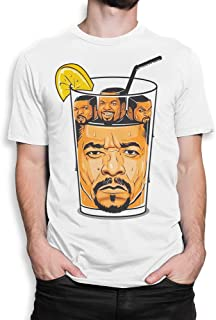 Ice Cube in Ice-T Funny T-Shirt, Rap Tee
